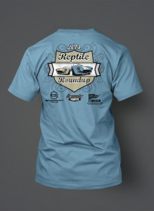 2014 Reptile Roundup T-shirt Back